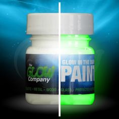 Glow in the Dark Paint. MUST HAVE :)