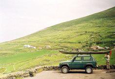 Retro, kayak //untitled by lens face, via Flickr