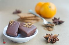 orange gingerbread chocolates