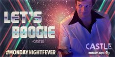 Let's boogie! #Castle #MondayNightFever