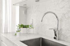 Stänkskydd marmor kök kitchen