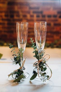 Wedding Glasses Décor Ideas For Your Big Day ❤ See more: http://www.weddingforward.com/wedding-glasses/ #weddingforward #bride #bridal #wedding
