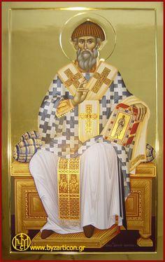 Αγ.Σπυριδων Ο Θαυματουργος, Επισκοπος Τριμυθουντος Κυπρου (270 - 350)  ___dec 12