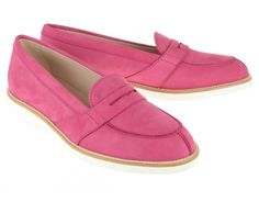 Pink loafers by Tod's