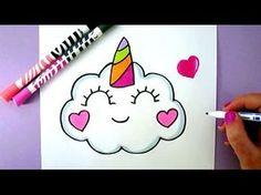 Comment Dessiner Une Licorne Kawaii Dessin Youtube Kawaii