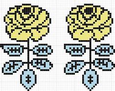 Beaded Cross Stitch, Cross Stitch Patterns, Fair Isle Chart, Knitted Mittens Pattern, Tapestry Crochet Patterns, Weaving Designs, Iron Beads, C2c Crochet, Chicken Scratch