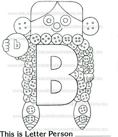Brilliant beginnings preschool letter person q printable for Letter people coloring pages