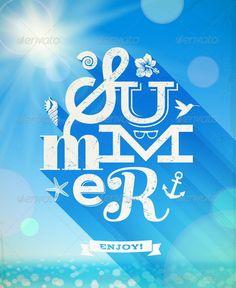 Summer Type Greeting
