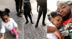 Must Watch; See How Davidos Daughter Imade SCARY Reaction As She Sees Policemen
