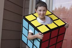 Rubiks cube costume | 25+ creative DIY costumes for boys