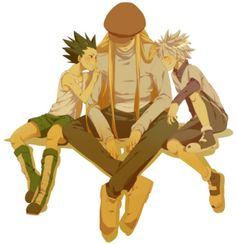 Gon, Kite, and Killua ~Hunter X Hunter