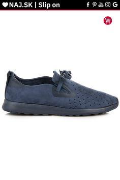 Modré semišové topánky slip on Kylie Kylie, Slip On, Sneakers, Shoes, Fashion, Tennis, Moda, Slippers, Zapatos