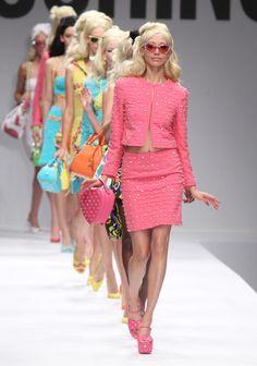 Moschino - Runway - Milan Fashion Week Womenswear Spring/Summer 2015 - Barbie inspired