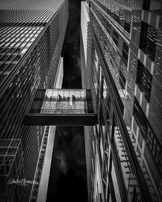 The Connection #canadianphotographer #monochrome #toronto #architecture #city by julbroimages