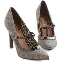 Restricted Vintage Inspired More Than Appealing Heel