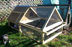 chook manor a-frame coop