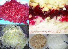 Παντζαροσαλάτα σπέσιαλ - cretangastronomy.gr Coconut Flakes, Cabbage, Grains, Spices, Vegetables, Food, Spice, Essen, Cabbages