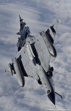 French Armée de l'Air Dassault Mirage 2000Ns.