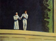 Edward Hopper Two Comedians 1965