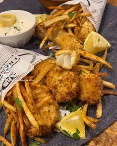 #fishandchips #fish #airfryerrecipes #airfryer #airfryerfish #fries #food #foodporn #foodblogger #foodvideo #foodies #cooking #cookinghacks #tartarsauce #recipe #recipeoftheday Fish Recipes, Seafood Recipes, Cooking Recipes, Recipe For Fish And Chips, Homemade Tartar Sauce, Fish Sandwich, Italian Dishes, Air Fryer Recipes, Creative Food