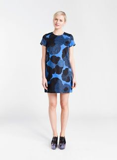 Rara dress (blue, black) | Clothing, Women, Dresses & skirts | Marimekko