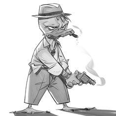 Howard the Duck! by paul1834