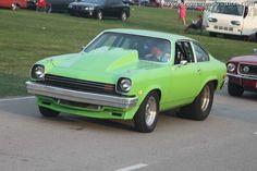 #Green Pro Street Chevy #Vega #HRPT 2011