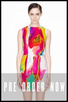 $595. love love! and it's def not black! PRE ORDER Electric Kool-Aid Sleeveless Dress | NICHOLAS | KOOL AID