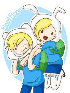 Adventure Time With Finn and Jake images Finn and Fionna HD ...