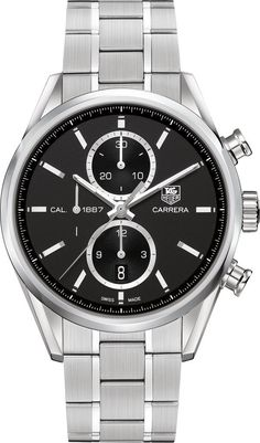 @tagheuer Watch Carrera Chronograph D #bezel-fixed #bracelet-strap-steel #brand-tag-heuer #case-material-steel #case-width-41mm #chronograph-yes #date-yes #delivery-timescale-call-us #description-done #dial-colour-black #discontinued #gender-mens #luxury #movement-automatic #official-stockist-for-tag-heuer-watches #packaging-tag-heuer-watch-packaging #subcat-carrera #supplier-model-no-car2110-ba0720 #warranty-tag-heuer-official-2-year-guarantee #water-resistant-100m