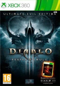 From Activision Diablo 3 Ultimate Evil Edition - Video Games (xbox One Physical Media Action / Rpg) Latest Video Games, Video Games Xbox, Xbox One Games, Ps4 Video, Resident Evil 5, Wii, Microsoft, Videogames, Jeux Xbox One