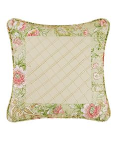 Look at this Garden Trellis Pillow on #zulily today!
