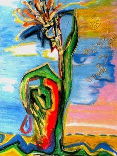 """Saatchi Art Artist Maria Iurskaya; Painting, """"Patterns of heart"""" #art"""