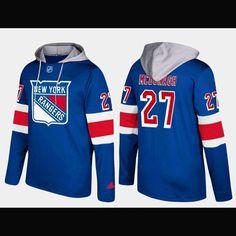 New York Rangers Adidas NHL Hockey Jersey Style Hoodie 5a1e20a1e