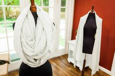 This DIY 2-in-1 #InfinityScarf will never go out of style! For more fashion DIY's, watch Home & Family weekdays at 10a/9c on Hallmark Channel!