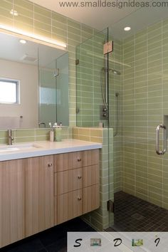 Extra small bathroom design ideas for finishing In fact, the bathroom area has virtually no impact on the choice of a way of finishing Metro Tiles, Bathroom Design Small, Bathtub, Mirror, Interior Design, Furniture, Home Decor, Master Bath, Rum