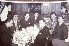 ARMANDO PONTIER, ENRIQUE MARIO FRANCINI,OSVALDO PUGLIESE,ASTOR PIAZZOLLA,OSMAR MADERNA,ALFREDO DE ANGELIS Y HECTOR STAMPONI.