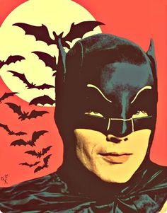 Batman (Adam West) - Alto via DeviantArt