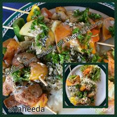 Rice Dishes, Chicken Recipes, Meat, Food, Meals, Recipes With Chicken, Yemek, Eten