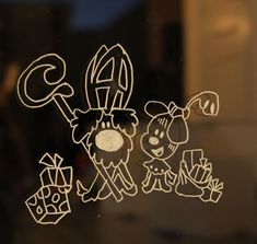 Hope you can utilize them to decorate your glass walls. Little children like those patterns most. Yarn Crafts, Diy And Crafts, Classic Window, Christmas Window Decorations, Chalkboard Lettering, Diys, Neon Signs, Glass Walls, Diy Decoration