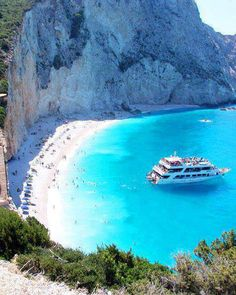Porto Katsiki beach, Lefkada Greece