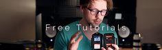 VSCO preset tutorials & downloads