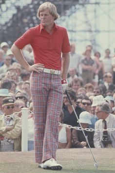Johnny Miller once had a Jordan-Spieth-Masters moment, and it haunted him for the rest of his career - Golf Digest Golf Outfit, Famous Golfers, Mens Golf Fashion, Golf Images, Jordan Spieth, Classic Golf, Vintage Golf, Hip Hop Fashion, Play Golf