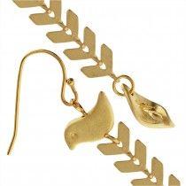 Golden Oracle Earrings