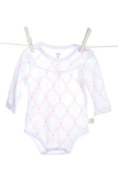 Little Giraffe Quatrefoil Bodysuit (Baby Girls) available at #Nordstrom
