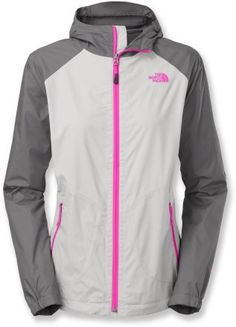The North Face Allabout Rain Jacket - Women (different color, but love the style) The North Face, North Face Women, Raincoats For Women, Jackets For Women, Women's Jackets, Vest Jacket, Adidas Jacket, Cheap Rain Jackets, Rain Jacket Women