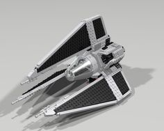 https://flic.kr/p/CKtJe8 | lego_tie_phantom_by_jesse220-d9oby8s | The TIE Phantom was an experimental TIE variant developed by the Galactic Empire shortly after the Battle of Yavin and overseen by Grand Admiral Martio Batch. It features both Hyperdrive and Deflector Shield systems as well as a Cloaking Device. Due to Rebel interference and sabotage, the TIE Phantom never saw widespread use against the Alliance.  This model was made by Mi yu on MOC-pages, I've Downloaded the building…