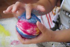 DIY: Pelota sonajero de lana   De mi casa al mundo