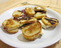 Sopressata Mini Sandwiches