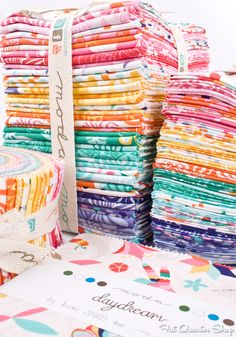 Daydreams by Kate Spain for Moda Fabrics http://storefront.unitednotions.com/storefrontCommerce/search.do?searchType=keyword&keyword=daydreams&emailAddress=